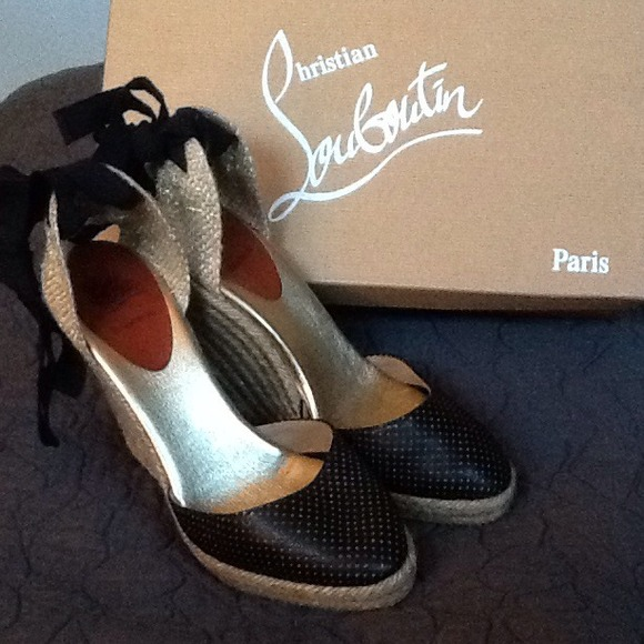 229ee93f4ad Christian Louboutin Shoes - Christian Louboutin Lace-up Espadrilles