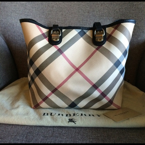 31f8515db74e Burberry Handbags - (hold)Authentic burberry small tote (Flash sale)