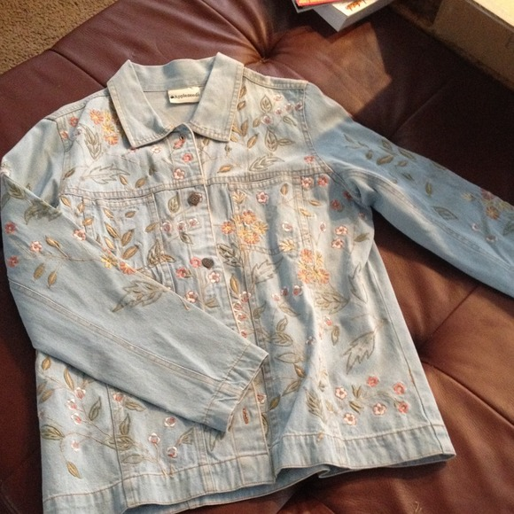 84 Off Appleseed S Jackets Amp Blazers Denim Jacket With