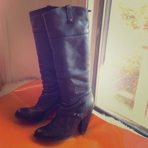 Awesome pre-loved Sam Edelman leather boots