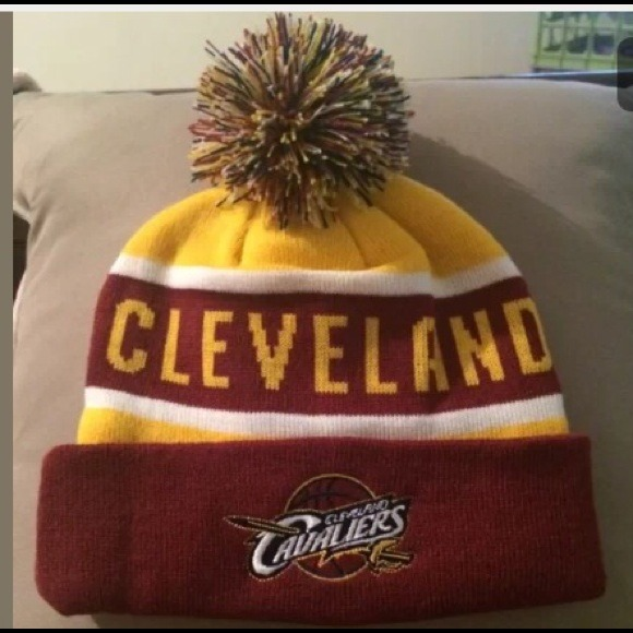 New Wine  Gold Cleveland Cavs Hat Lebron Kyrie fef1e9ac986