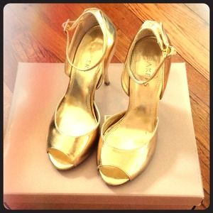 Gold Bakers shoes