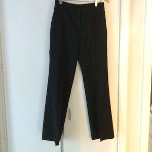Classic J. Crew black wool pants