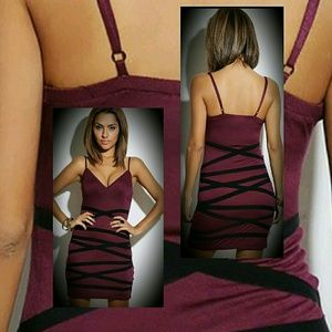 Maroon Dress is perfect for date night