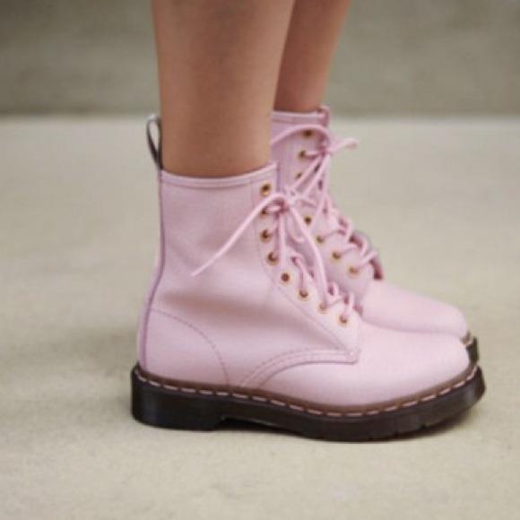 71bf972de8e Dr. Martens Shoes   Pastel Light Pink Doc Marten Dupes   Poshmark