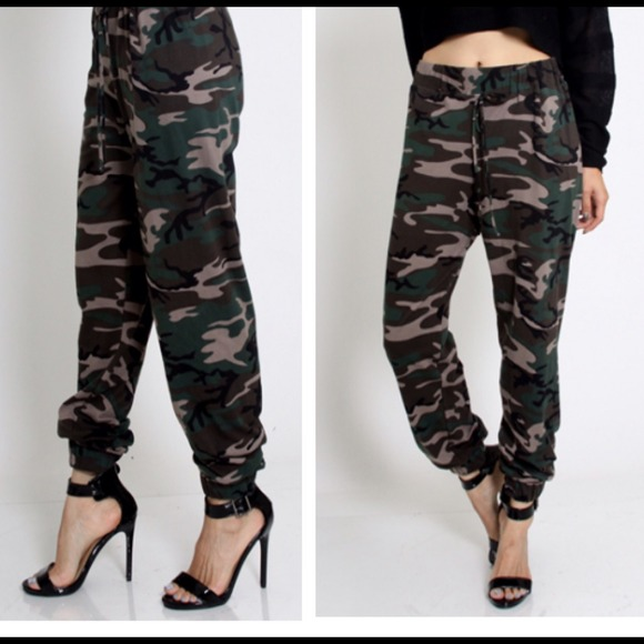 Innovative Womenu0026#39;s Camo Joggers | Wardrobe Mag