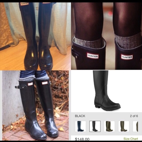 29% off Hunter Boots - 💯Authentic👢'Original Tall' Rain Boot in ...