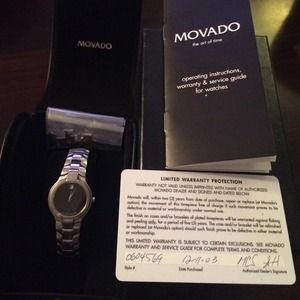 Movado Portico Women's Stainless Steel Watch