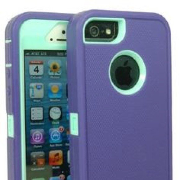 purchase cheap 75546 4b92e Purple and turquoise iphone 5/5s otterbox.