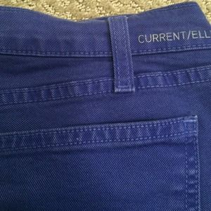 Current/Elliott Jeans - Current Elliot ankle skinny in royal blue