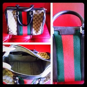 Authentic SATURDAY ONLY SALE GUCCI BOSTON BAG