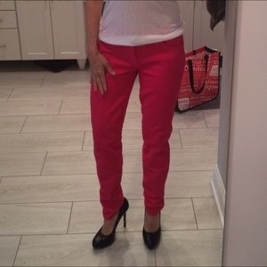 Current/Elliott Jeans - Current elliot ankle skinny on bright rose sz 30