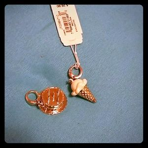 Jewelry - Super cute Fossil charms