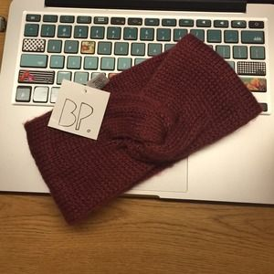 Cranberry Winter Headband