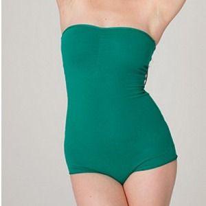 84f6d28b974 American Apparel Tops -  NWOT  Cotton spandex Strapless Bodysuit