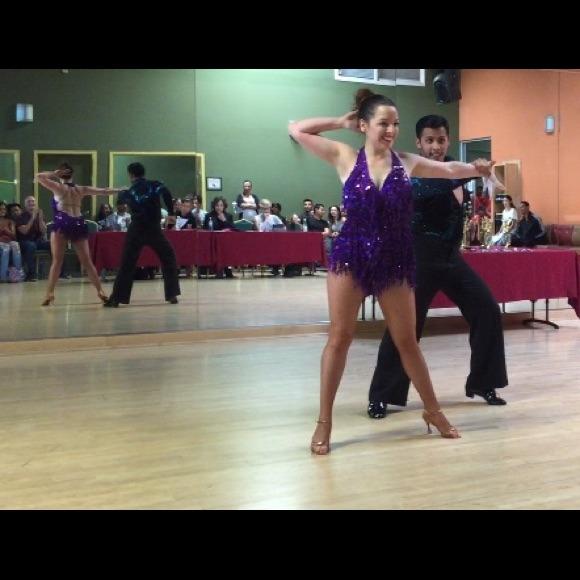 1b2a91c680e8d DSI London Dresses | Purple Latin Ballroom Or Salsa Dress | Poshmark
