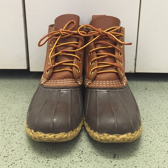 Simple Womens LL Bean 8 M Boots Primaloft Brown Suede Slip Pull On Moccasins