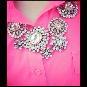 NWOT gorgeous statement necklace