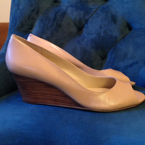 478c7c5c1808 Nine West Shoes - Nine West Powersurge Peep Toe Wedge - Beige Nude