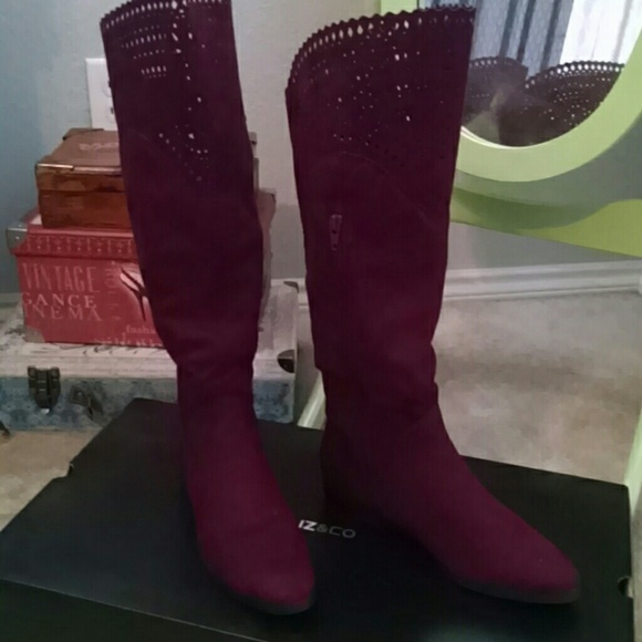cb8f738717768  SALE  JCP Eppie Burgundy Boot