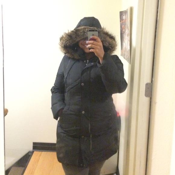 Betsey johnson black ruched jacket