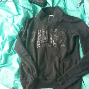 Victoria's Secret Sweaters - All black k crew kneck