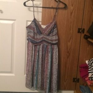 Staring at Stars Patterned Dress- size 8