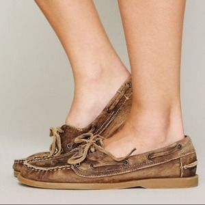 Madewell Bed Stu boat shoes