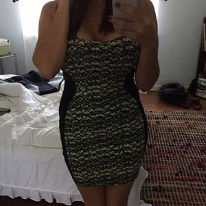 Material Girl Dresses - SnakePrint bodycon dress