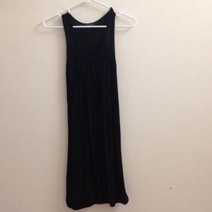 Forever 21 black pleated bubble dress, size S