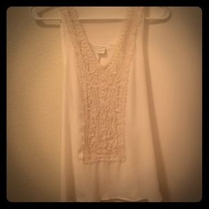 White tank from ModCloth