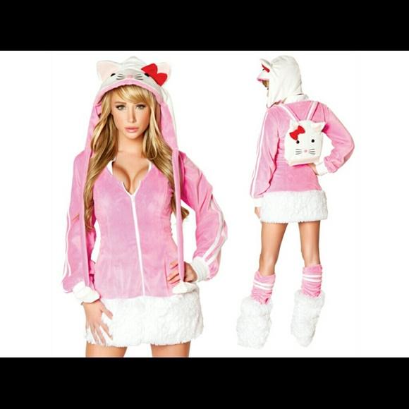 J Valentine Hello Kitty Halloween Costume