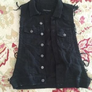 Citizens of humanity denim vest SMALL REDUCED!!