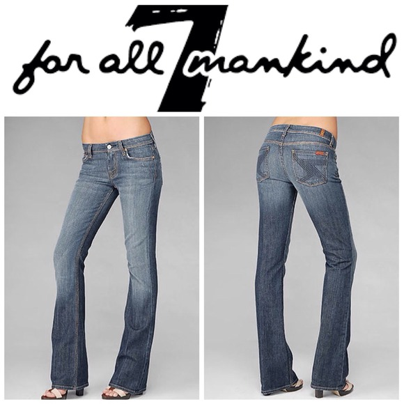 80% off 7 for all Mankind Denim - 7 for all mankind FLYNT bootcut ...