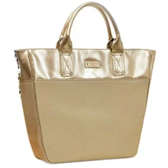 18128ef0825c Versace limited edition women s parfums gold tote.  M 5446b18cc8ce856e5f3365d3