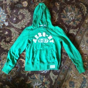 Aeropostale green hoodie