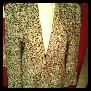100% hand woven silk blazer
