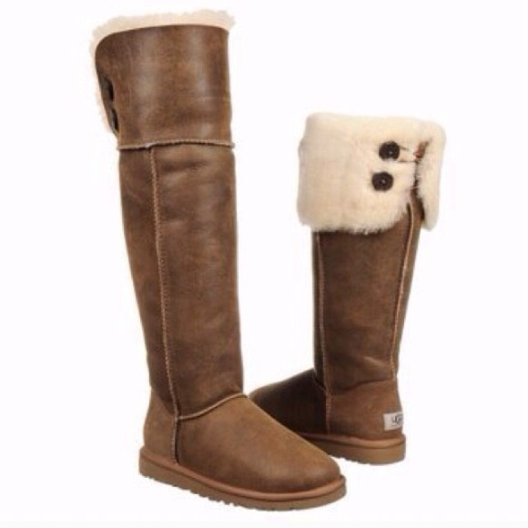 96371b51bab UGG Over the Knee Bailey Button. M 5446d3c917b8c255b7006622