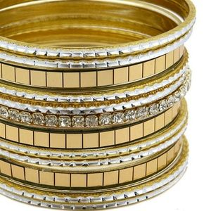 Jewelry - Gold Bangle bracelet set Fashion Jewelry