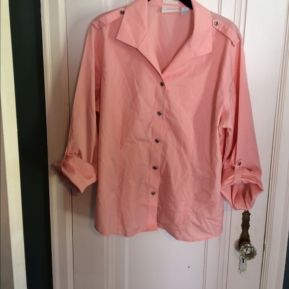 72 off chico 39 s tops chicos no iron shirt from for Chicos no iron shirts