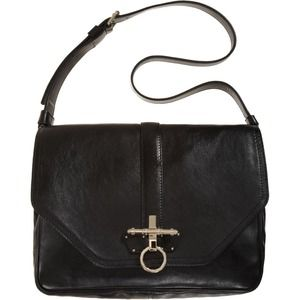 Givenchy Black Obsedia Messenger Handbag NWT