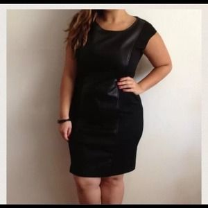 Front Leather Dress