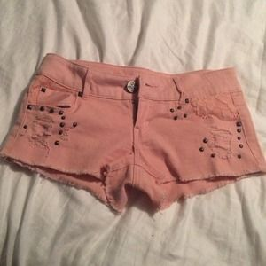 Dusty Pink shorts!