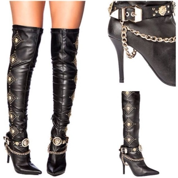 29 jeffrey cbell shoes thigh high boots from