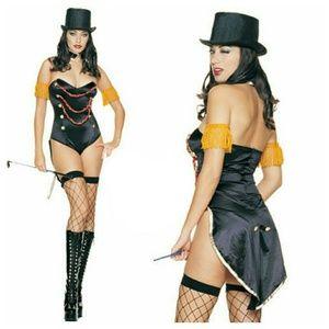 Sexy circus ringleader costume