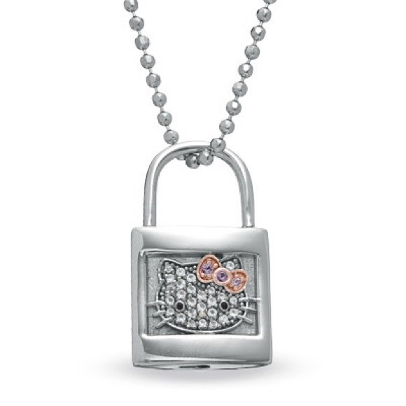 57 off hello kitty jewelry hello kitty for zales necklace real hello kitty for zales necklace real diamonds mozeypictures Gallery