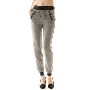 """Nocturna"" Grey Joggers / Pants"