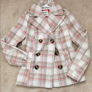 Old navy plaid coat