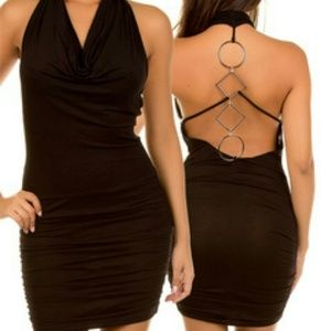 Dresses & Skirts - New Open Back Black Dress
