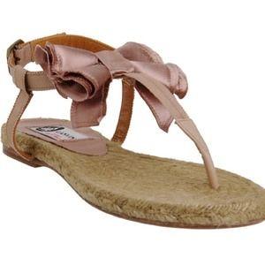 LANVIN Bow Espadrille Sandal 7